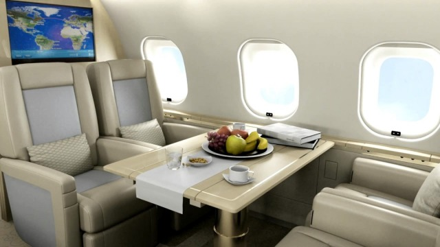 Thumnail_Business jets - Business Aviation cabin interior